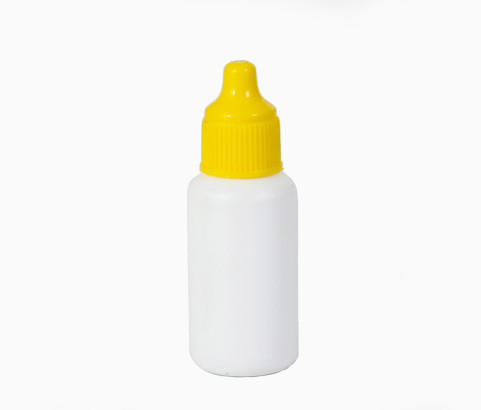 15ml Dropper Bottle with Cap (HDPE) - Exclusive