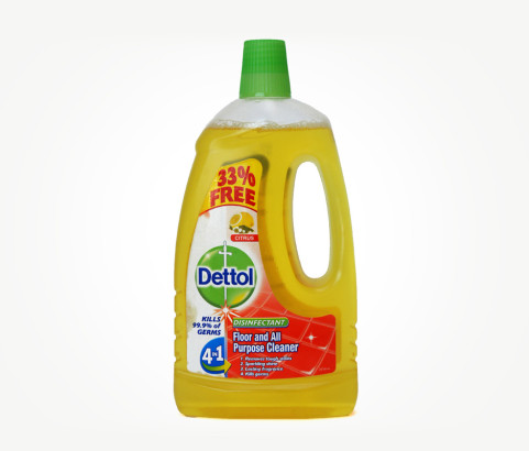 1L Dettol Floor Cleaner (Polyprop) - Exclusive