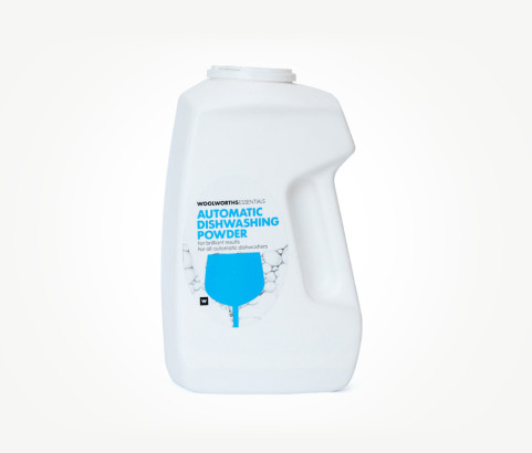 1kg Dishwash Powder Bottle with Custom Cap (HDPE) - Exclusive