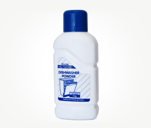 1kg Dishwashing Powder Bottle with Screw on Cap (HDPE) - Exclusive