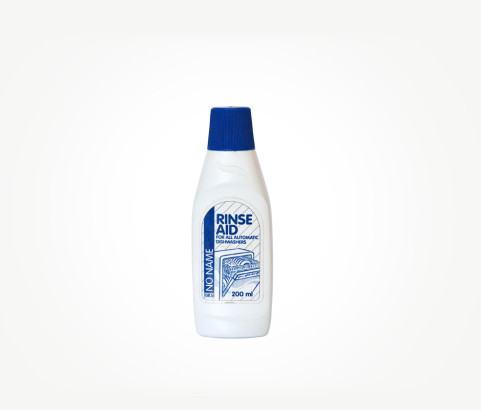 200ml Rinse Aid Bottle with Screw on Cap (HDPE) - Exclusive