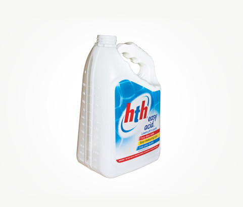 3L HTH Acid Bottle (HDPE) - Exclusive