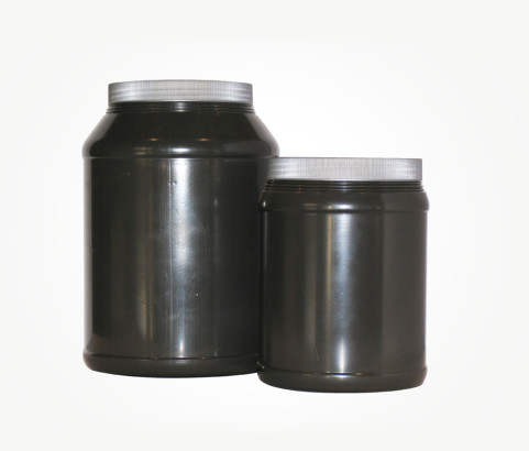 4L and 6L Protein Powder Jar with Screw on Caps (HDPE) - Exclusive