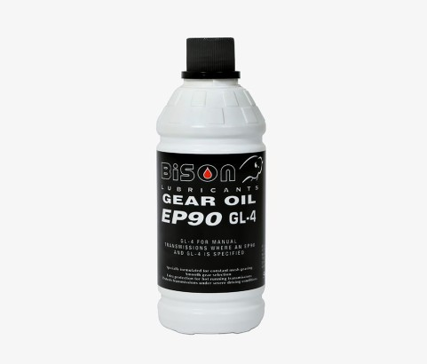 500ml Brake Fluid Bottle with 28mm Ratchet Cap (HDPE)