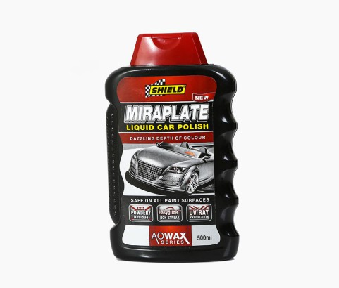 500ml Shield Miraplate Bottle with Custom Flip Top Cap (PVC) - Exclusive