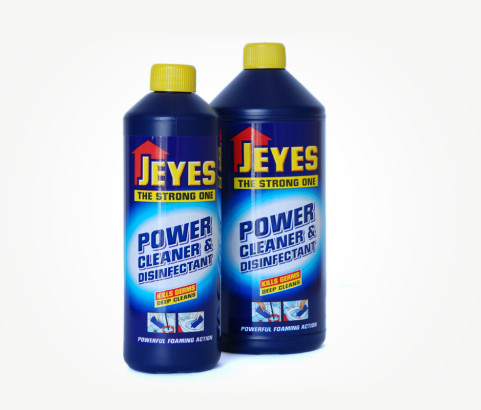 500ml and 1L Jeyes Power Cleaner Bottle with Screw on Cap (HDPE) - Exclusive
