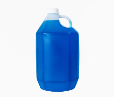 5L Hex Bottle with 38mm Cap (HDPE)