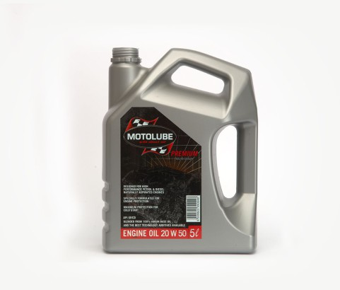 5L Motolube Engine Oil Bottle (HDPE) - Exclusive