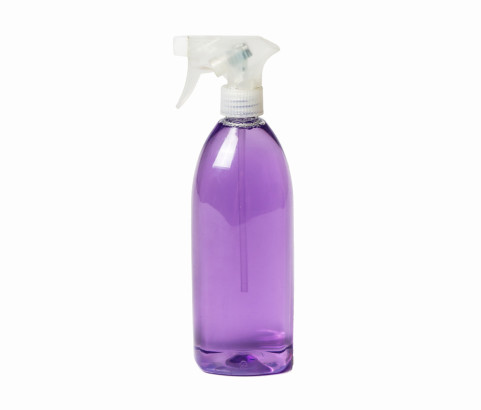 750ml Crystal Bottle with Trigger Spray (PET)