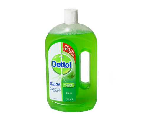 750ml Dettol Bottle with Screw on Cap (Polyprop) - Exclusive