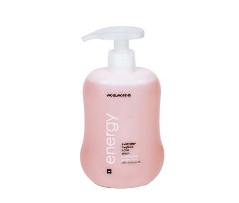300ml Woolworths Energy Bottle with Lotion Pump (HDPE) - Exclusive