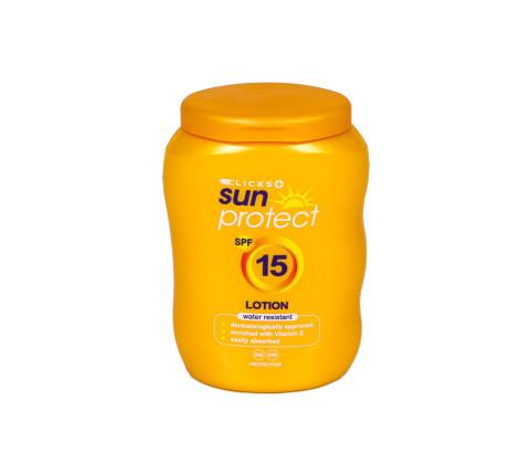 50ml Clicks Sun Protect Bottle with Custom Flip Top Cap (HDPE) - Exclusive
