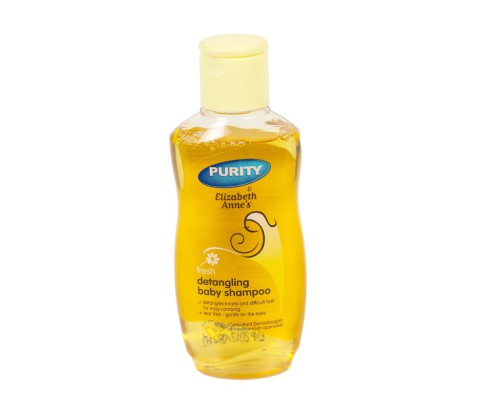 125ml Elizabeth Anne's Detangling Baby Shampoo Bottle with Flip Top Cap (PVC)   Exclusive