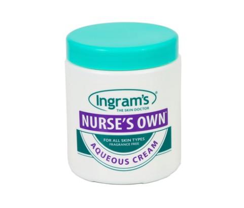 525g Nurses Own Aqueous Cream Jar and Screw on Cap (HDPE)   Exclusive