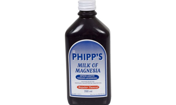 350ml Phipps Milk Of Magnesia Bottle (HDPE)   Exclusive