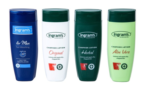 400ml Ingrams Lotion Bottles with Custom Flip Top Cap (HDPE)  Exclusive