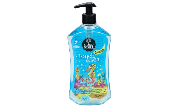 500ml Good Stuff Bottle with Lotion Pump (PET)   Exclusive