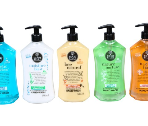 500ml Good Stuff Bottles with Lotion Pumps (PET)  Exclusive