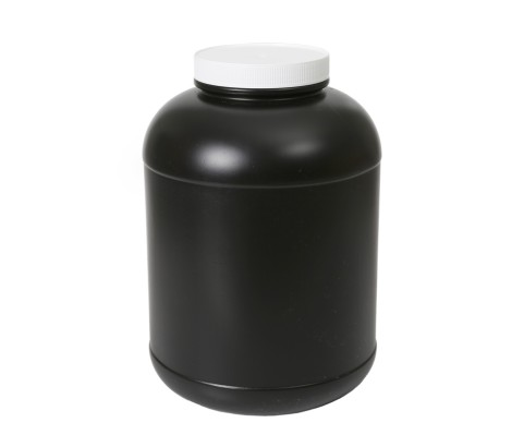 10L Mass Jar with 120mm Screw on Cp (HDPE)