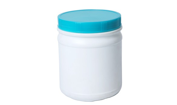 1L Solal Jar with 110mm Screw on Cap (HDPE)