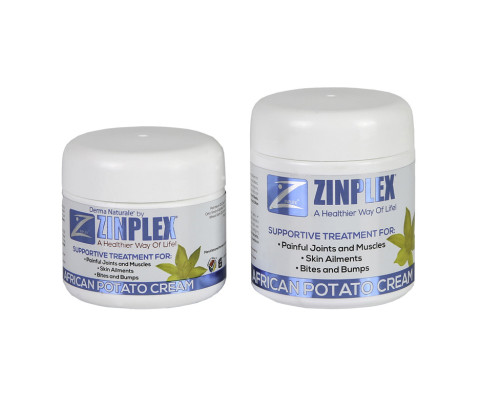 BODY CARE  125ml and 100ml Zinplex African Potato Crfeam Jars (HDPE)   Exclusive