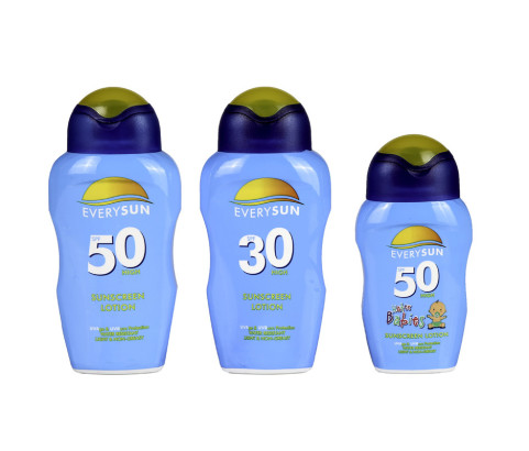 250ml and 125ml Everysun Bottles (HDPE)   Exclusive