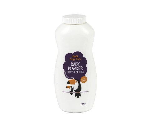 400ml Tiny Tots Baby Powder Bottle (HDPE)   Exclusive