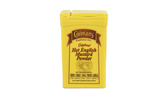 100g Colemans Mustard Powder Bottle (Polyprop) Exclusive