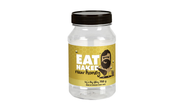 750g Eat Naked Honey Jar (PET) - Exclusive