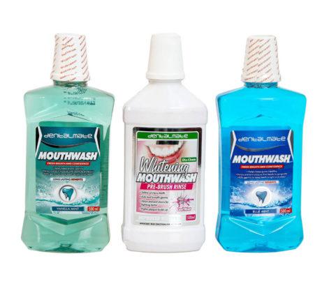 BODY CARE 500ml Dischem Mouthwash Bottles PET Exclusive
